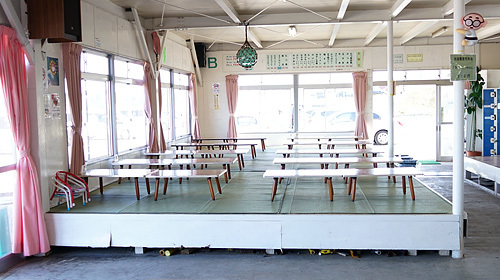 阿字ヶ浦海の家サーフサイド渚の休憩用お座敷