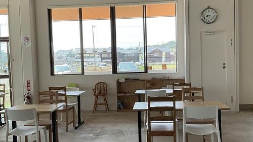 阿字ヶ浦海の家:南浜ビーチガーデンのお土産コーナー